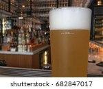 happy hour starts with a cold... | Shutterstock . vector #682847017