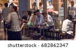 tokyo  japan   july 22th  2017. ... | Shutterstock . vector #682862347