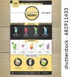 flat cocktail menu concept web...