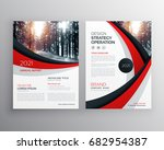 business flyer brochure design... | Shutterstock .eps vector #682954387