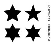Vector Star Icon Set
