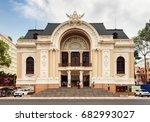 ho chi minh city  vietnam  ... | Shutterstock . vector #682993027