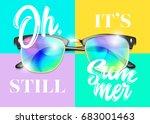 minimal fashion vector design.... | Shutterstock .eps vector #683001463