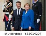 paris  france   july 13  2017   ... | Shutterstock . vector #683014207