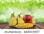 fruits in the table | Shutterstock . vector #683014447