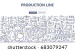 doodle vector illustration of... | Shutterstock .eps vector #683079247