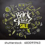 Back To School Sale Lettering...