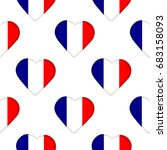 seamless pattern from the flags ... | Shutterstock .eps vector #683158093