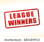 illustration of league winners... | Shutterstock .eps vector #683184913