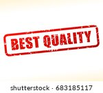 illustration of best quality... | Shutterstock .eps vector #683185117