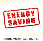 illustration of energy saving... | Shutterstock .eps vector #683187247