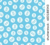 seamless texture pattern... | Shutterstock .eps vector #683188543