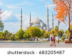 istanbul  turkey   september 13 ... | Shutterstock . vector #683205487