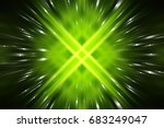 Abstract Green Fractal...