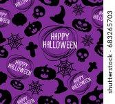 halloween  backgrounds vector | Shutterstock .eps vector #683265703