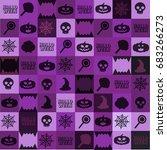 halloween  backgrounds vector | Shutterstock .eps vector #683266273