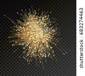 abstract optical fiber glitter... | Shutterstock .eps vector #683274463