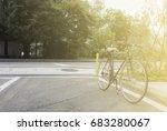 vintage bicycle | Shutterstock . vector #683280067