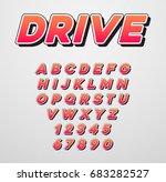 raster speed racing sport... | Shutterstock . vector #683282527