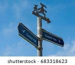 ventnor  isle of wight  uk  ... | Shutterstock . vector #683318623