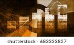 website performance metrics and ... | Shutterstock . vector #683333827