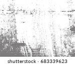 grunge white and black stripes. ... | Shutterstock .eps vector #683339623