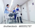 profession  people  health care ... | Shutterstock . vector #683351737