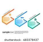 design elements loop style... | Shutterstock .eps vector #683378437
