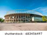vienna  austria   june 05  2017 ... | Shutterstock . vector #683456497