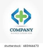 corporate identity. design...   Shutterstock .eps vector #683466673