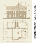 the author's architectural... | Shutterstock .eps vector #683472307