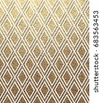 vector geometric gold... | Shutterstock .eps vector #683563453