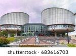 strasbourg  france   may 2017 ...   Shutterstock . vector #683616703