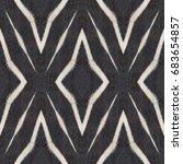 oriental abstract  seamless... | Shutterstock . vector #683654857