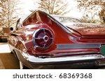 close up shot of a vintage car...   Shutterstock . vector #68369368