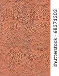 bright orange textured wall | Shutterstock . vector #68371303