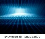 abstract background. fractal... | Shutterstock . vector #683733577
