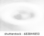 abstract halftone dotted... | Shutterstock .eps vector #683844853
