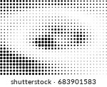abstract halftone dotted... | Shutterstock .eps vector #683901583