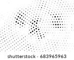 abstract halftone dotted... | Shutterstock .eps vector #683965963