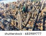 new york   july 02 2016  aerial ... | Shutterstock . vector #683989777