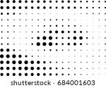 abstract halftone dotted... | Shutterstock .eps vector #684001603