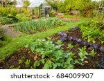 home garden allotment | Shutterstock . vector #684009907
