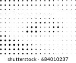 abstract halftone dotted... | Shutterstock .eps vector #684010237