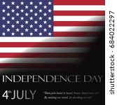 independence day  vector   Shutterstock .eps vector #684022297