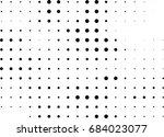 abstract halftone dotted... | Shutterstock .eps vector #684023077