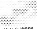 abstract halftone dotted... | Shutterstock .eps vector #684023107
