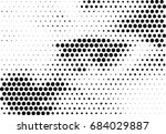 abstract halftone dotted... | Shutterstock .eps vector #684029887