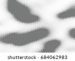abstract halftone dotted... | Shutterstock .eps vector #684062983