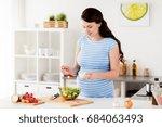 healthy eating  pregnancy  food ... | Shutterstock . vector #684063493
